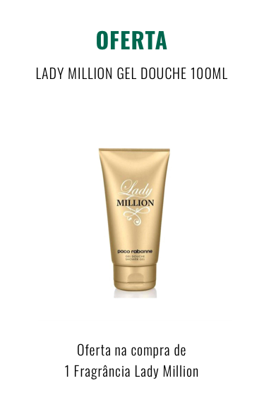 O0075 LADY MILLION GEL DOUCHE 100ML