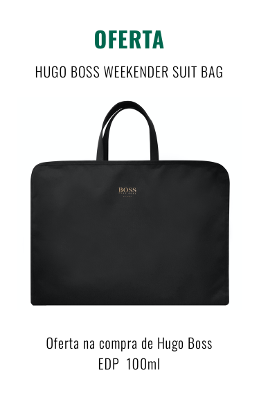 O0110- HUGO BOSS WEEKENDER SUIT BAG