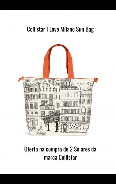 O0204 - Collistar I Love Milano Sun Bag