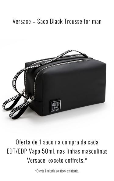 O0199 - Versace Saco Black Trousse for man