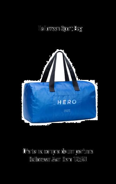 O0196 - HALLOWEEN MAN HERO SPORT BAG