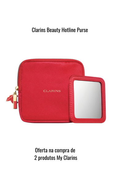 Clarins Hotline Purse