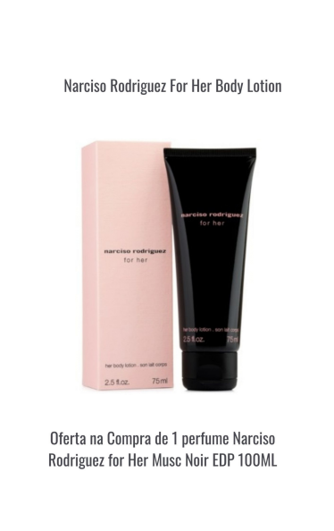 Narcizo Rodrigues For Her Body Lotion