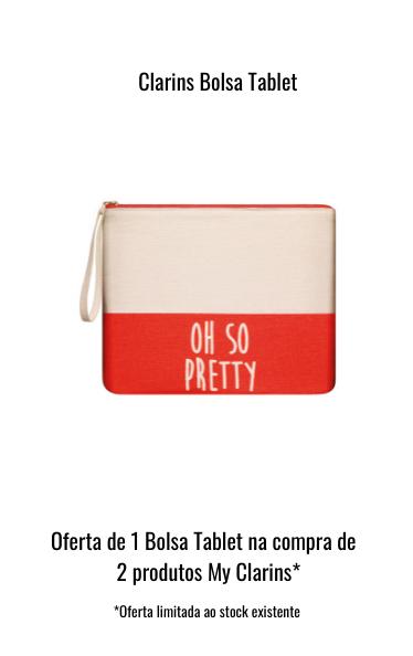 O0244 Oferta Clarins Bolsa Tablet