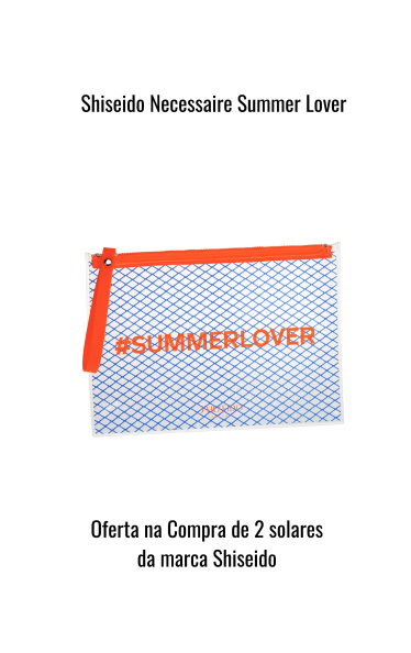 O0068 - Shiseido Necessaire Summer Lover